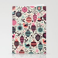Birds And Baubles  Stationery Cards