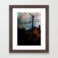 Home Invasion Framed Art Print