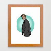 Mr Jane Framed Art Print