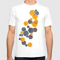 construct hex v3 Mens Fitted Tee White SMALL