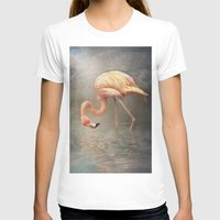 Walking In A Dream.. Womens Fitted Tee White SMALL