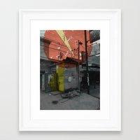 costa rica 3 Framed Art Print