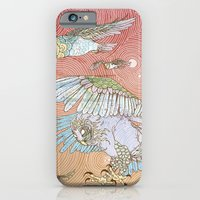 iPhone Cases featuring The Migration by Lloyd Winter