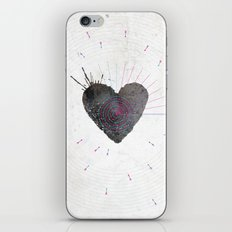 your heart is my target iPhone & iPod Skin
