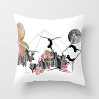 Magical Attack Throw Pillow