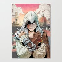 Assassin's Creed II Ezio… Canvas Print