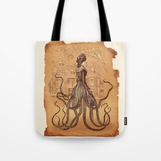 Lady Cthulhu Tote Bag