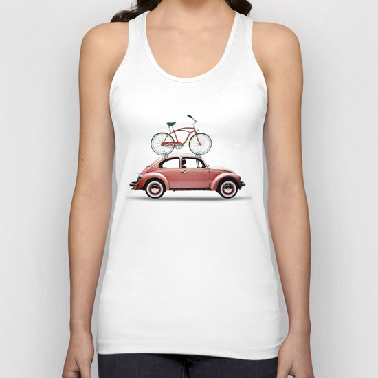VW bike rack Unisex Tank Top