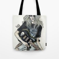 This Is A Rock Band Tote Bag