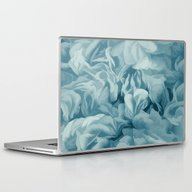 Soft Baby Blue Petal Ruf… Laptop & iPad Skin