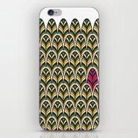 Rubine Feather iPhone & iPod Skin