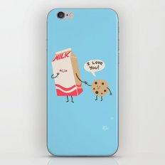 Cookie Loves Milk iPhone & iPod Skin