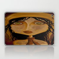 Pilot Girl Laptop & iPad Skin