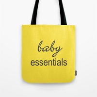 Baby Essentials Pantone 2016-Buttercup Tote Bag