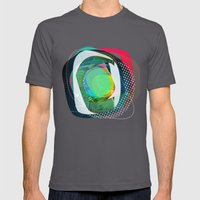 The Abstract Dream 4 Mens Fitted Tee Asphalt SMALL