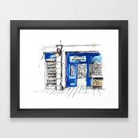 Galway girl Framed Art Print