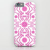 Hot Pink Lace iPhone 6 Slim Case