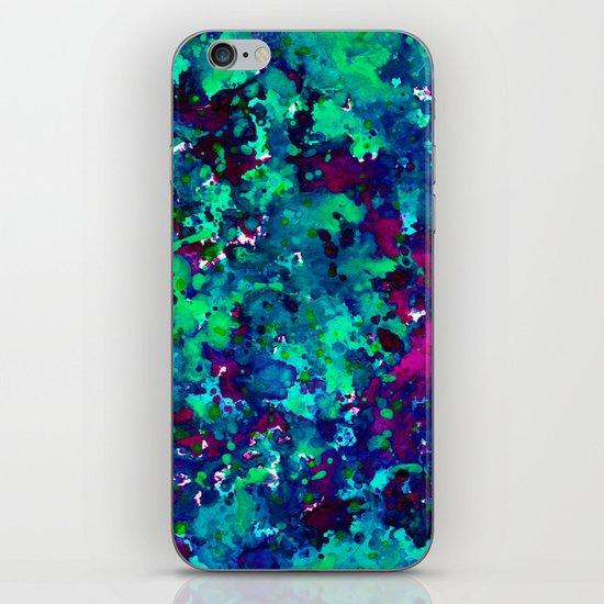 Midnight Oil Spill iPhone & iPod Skin