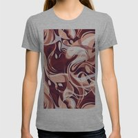 Marsala Shake Womens Fitted Tee Athletic Grey SMALL