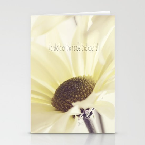 Inner Beauty Stationery Card