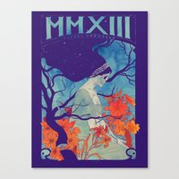 MMXIII Canvas Print