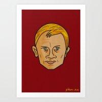 Daniel Craig Is James Bo… Art Print