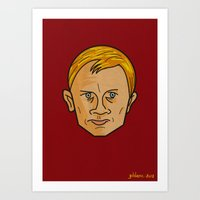 Daniel Craig is James Bond Art Print