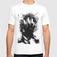 Portrait Mens Fitted Tee White SMALL