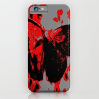 iPhone & iPod Case featuring Fight Flight by a.rose