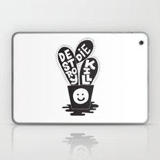 cactus die kill destroy Laptop & iPad Skin