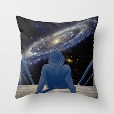 Half Light Throw Pillow