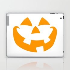 Pumpkin Face Laptop & iPad Skin