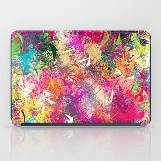 Random Paint iPad Case