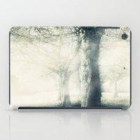 Trees In The Mist iPad Case