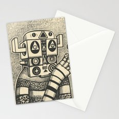 Dream of Blue Planet Stationery Cards