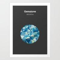 Gemstone - Adamantium Art Print