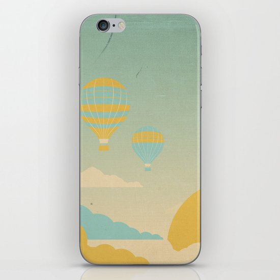 In The Clouds iPhone & iPod Skin