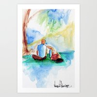Day at the Park Art Print
