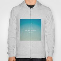 I Love You To The Moon A… Hoody