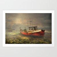 On The Estuary Art Print