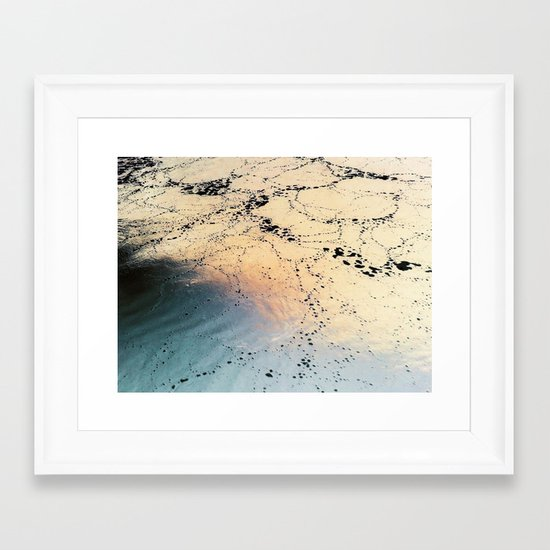 Copper River Framed Art Print