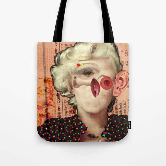 Mix Marilyn Collage 4 Tote Bag