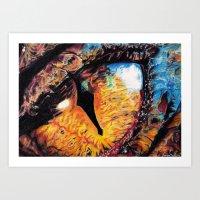 Smaug's Eye Art Print