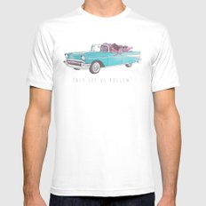 The See Us Rollin' Mens Fitted Tee White SMALL