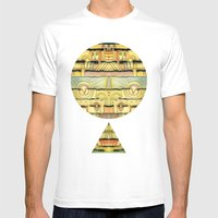 Through The Night Mens Fitted Tee White SMALL