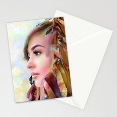 The guradian of the sky Stationery Cards