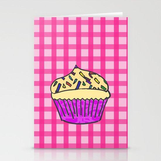 Cupcake Stationery Card