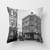 Brick Lane Throw Pillow