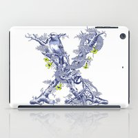 Letter X iPad Case