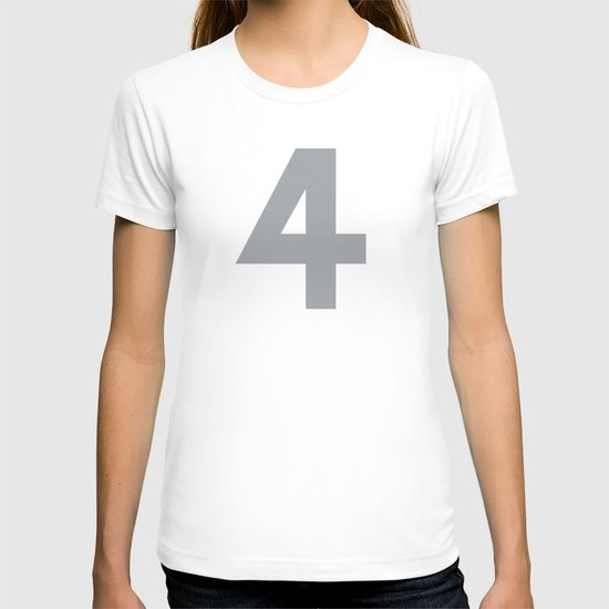 Number 4 T-shirt
